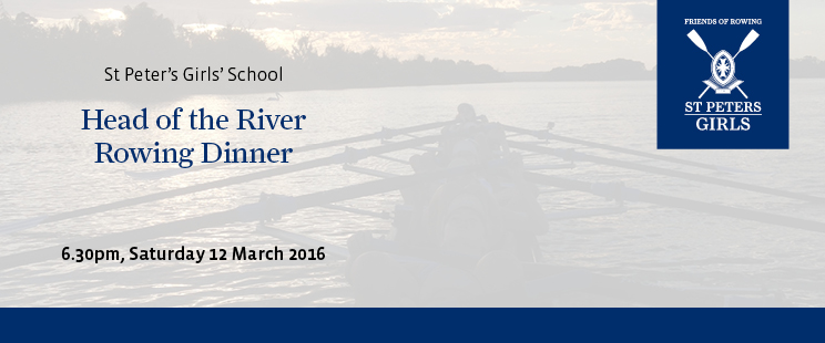 Rowing HOR dinner Enews