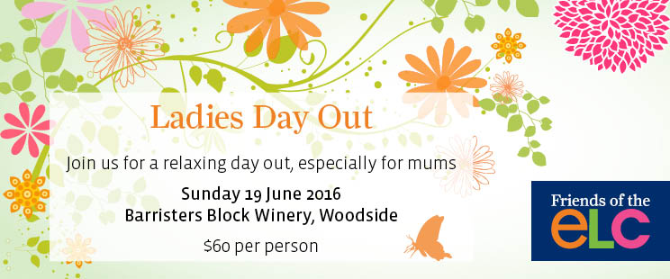 ELC Ladies Day Out Email blast
