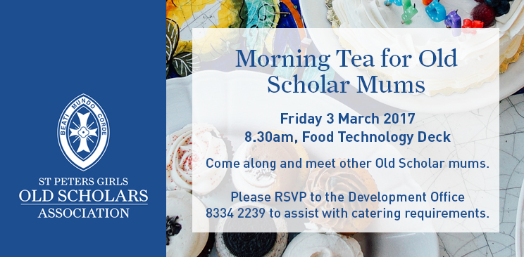 Enews OSA Morning Tea