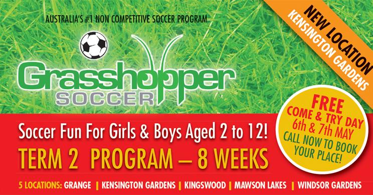 10 Grasshopper Soccer