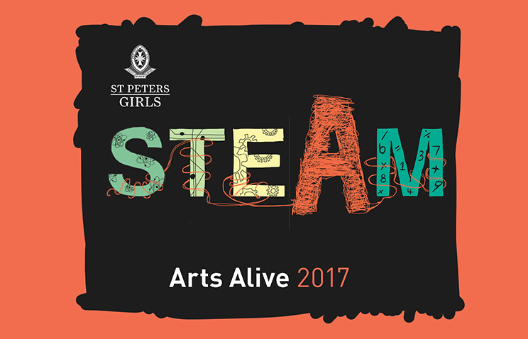 Arts Alive invitation