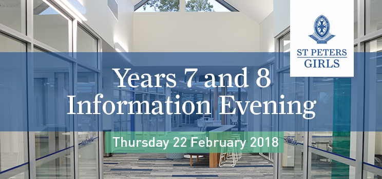 W3 Years 7 and 8 Information Evening