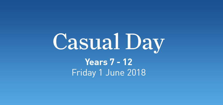 W4 Casual Day