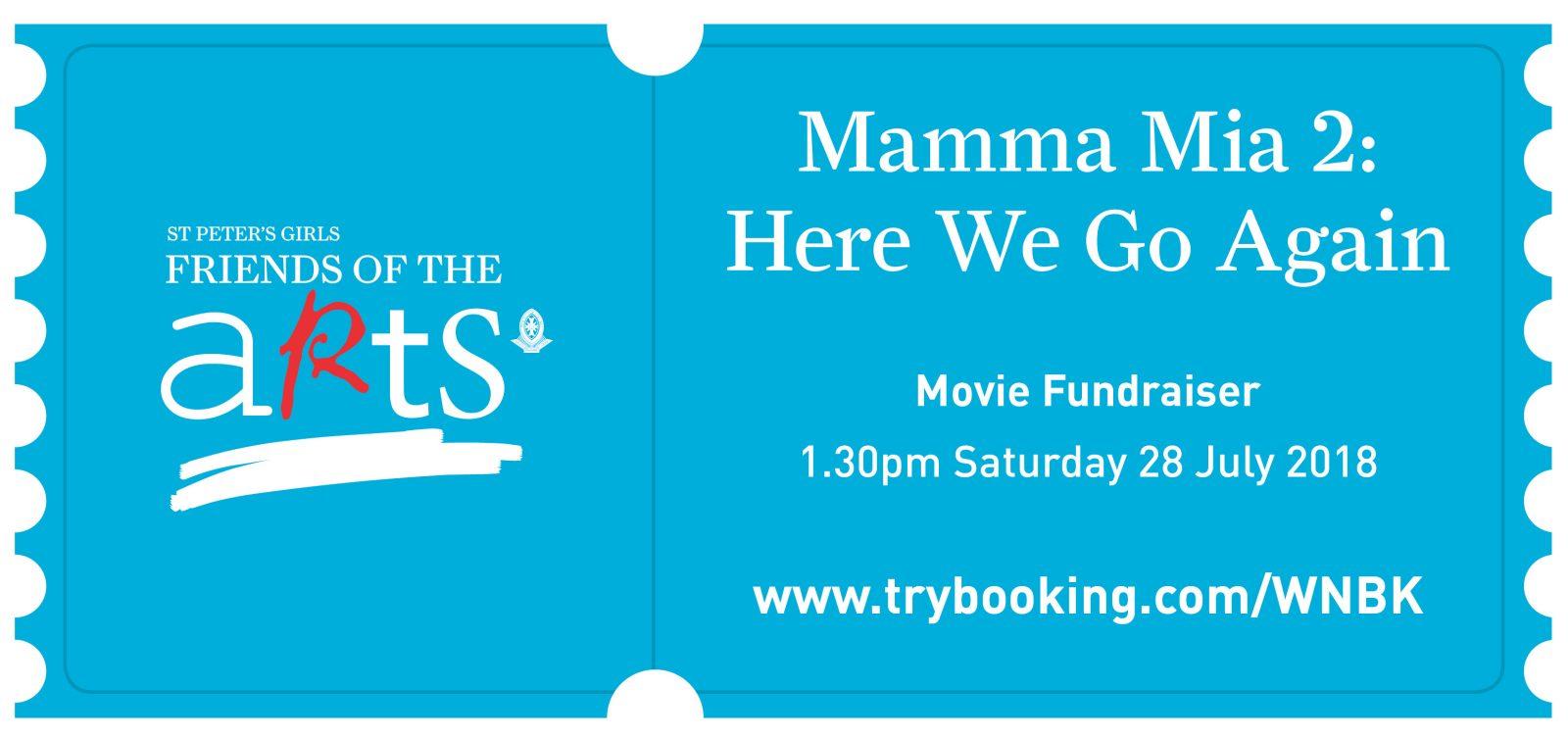 W8 FOA Mamma Mia Movie Night_eNews Banner