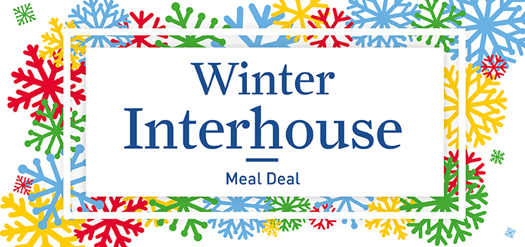 W9 Winter Interhouse Meal Deal