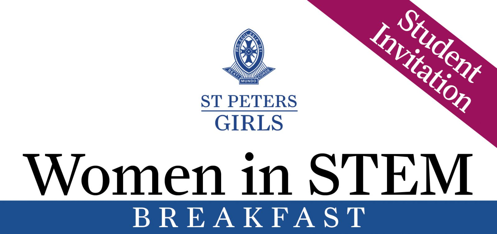 W10 - Women in STEM Breakfast Invite