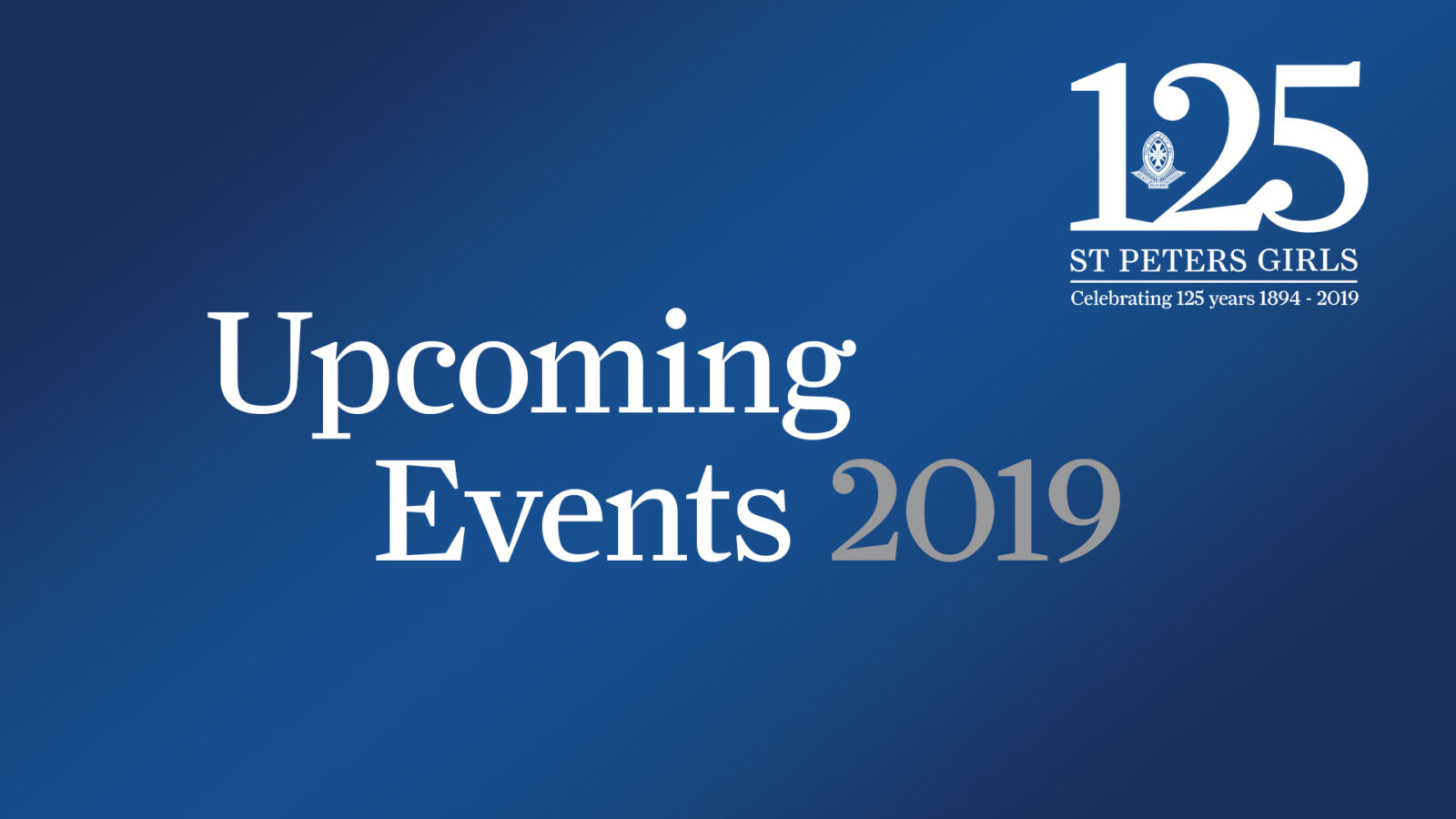 W7 - Upcoming Events