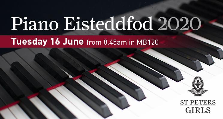 W1 - Piano Eisteddfod